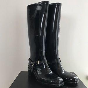 Jimmy Choo   Chester Logo PVC Rain Boots